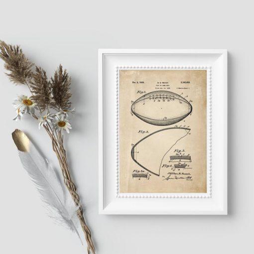 Football amerykański - poster