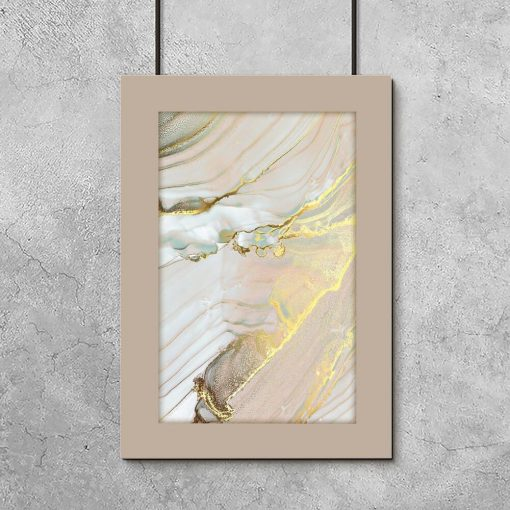 Kolorowy marmur - plakat