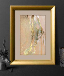 Plakat z teksturą marmuru