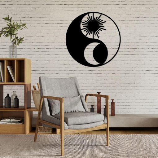 Yin i Yang - ażurowa ozdoba