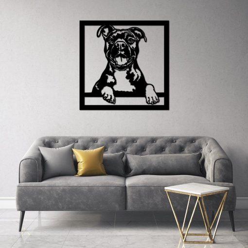 Przestrzenna ozdoba z psem