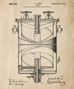 Plakat kuchenka gazowa - prototyp