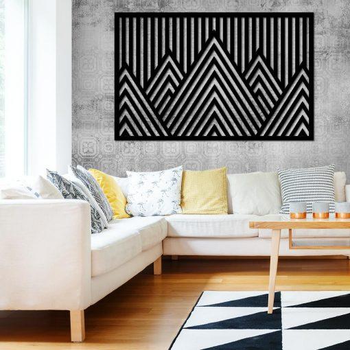 Górska abstrakcja - panel przestrzenny