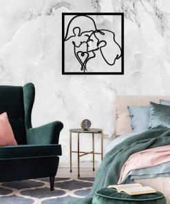 Zakochana para - ażur dekoracyjny