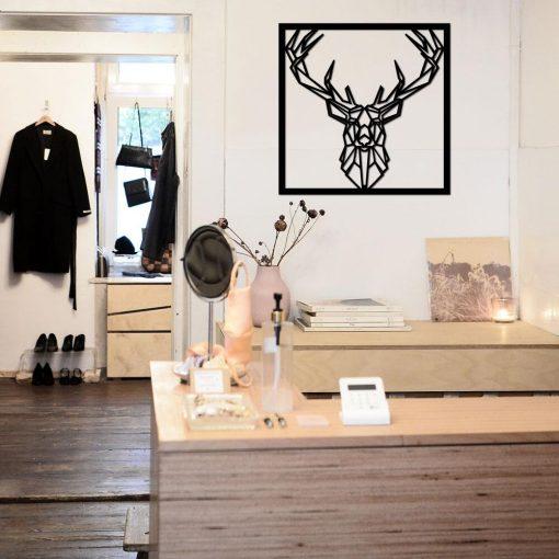 Panel przestrzenny z jeleniem