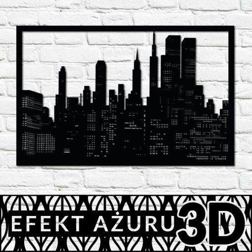 Dekoracja 3d - New York