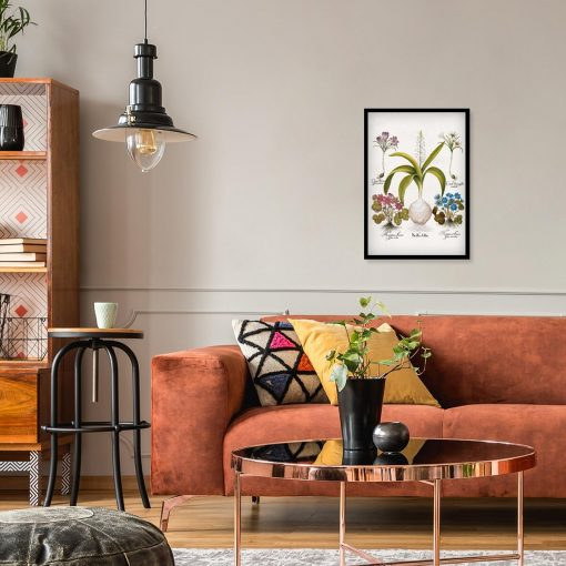 Plakat z kwiatami - Krokus do salonu