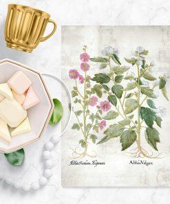 Plakat do ramy z motywem kwiatowym