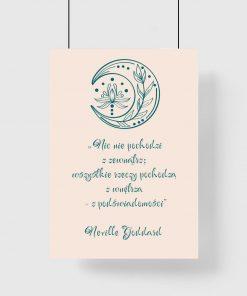Plakat nic nie pochodzi z zewnątrz; wszystkie rzeczy pochodzą z wnętrza - z podświadomości