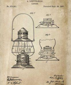 Plakat - Patent na latarnie