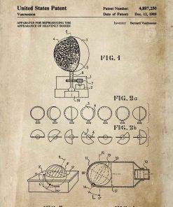 Plakat wynalazek z 1989r. urządzenie do badania Wszechświata