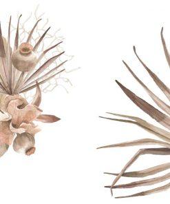 Komplet plakatów z motywem botanicznym