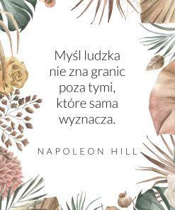 Plakat ze słowami Hilla
