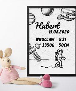 Spersonalizowany plakat dla dziecka