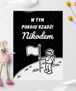 Spersonalizowany plakat z podanym imieniem
