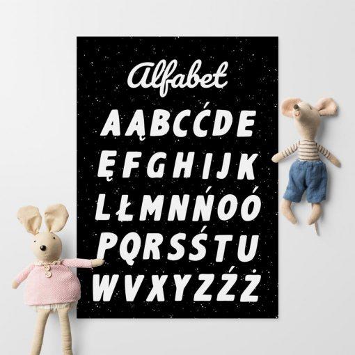 Plakat do nauki języka polskiego