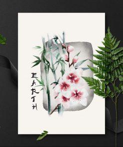 Plakat z napisem: ziemia