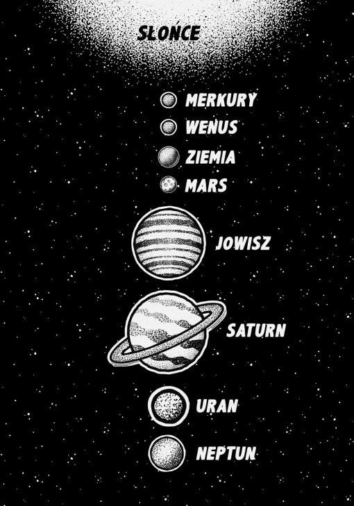Plakat z Neptunem