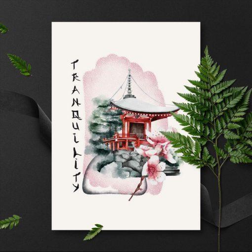 Plakaty z elementami wschodu