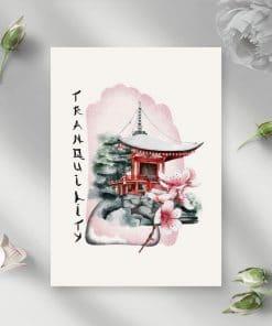 Plakaty z napisem: tranquility